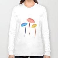 mushroom Long Sleeve T-shirts featuring Mushroom by Emmyrolland