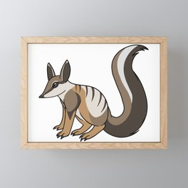 Numbat Framed Mini Art Print
