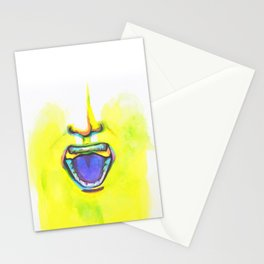 All I Hear is White Noise Stationery Cards