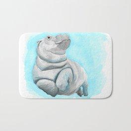 Baby Hippo Underwater Fantasia Ballet Bath Mat