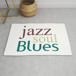 Jazz,soul,blues Rug