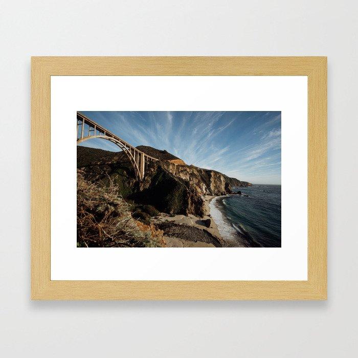 Bixby Bridge Framed Art Print