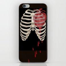 Bleeding Heart and Ribs iPhone & iPod Skin