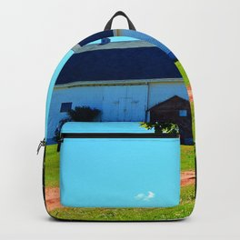 Carriage Ride Through Time Backpack
