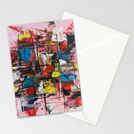 Abstract #6 - Dramatic Stationery Cards