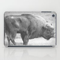 bison iPad Cases featuring  Bison by Peaky40