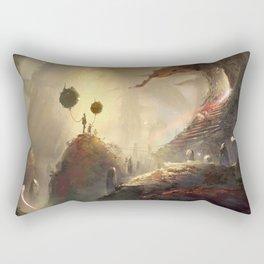 THE VISITORS Rectangular Pillow