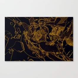 Adult Onset Space Madness Canvas Print