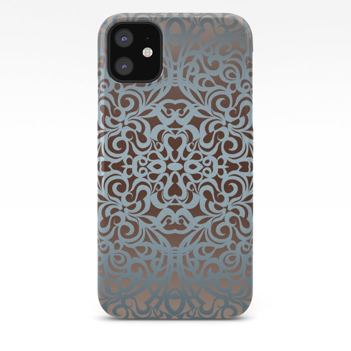 Floral Abstract Background G100 IPhone Case By Medusa81