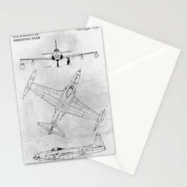 LOCKHEED P-80 Stationery Cards