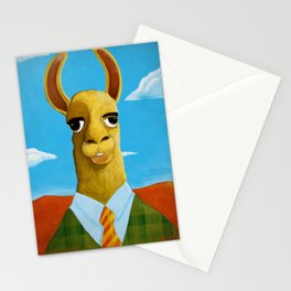 Executive LLama Stationery Cards