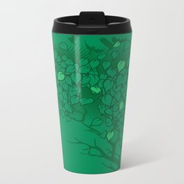 Love Leaves Metal Travel Mug