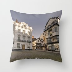 Cathedral Yard Throw Pillow