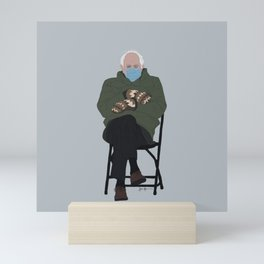 Burrrnie Mini Art Print