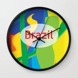 rio2016 Wall Clock