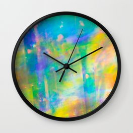 Prisms Play of Light 3 Wall Clock