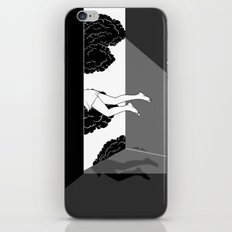 The edge of the world iPhone & iPod Skin