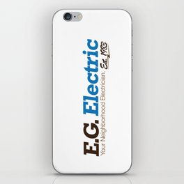 E.G. Electric iPhone Skin