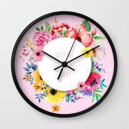 INSPIRE SOMEONE TODAY Wall Clock