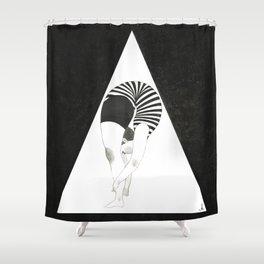 Am I weird or Flexible?- A Type Shower Curtain