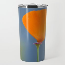 California Poppy Dreaming Travel Mug