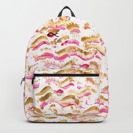 Golden waves Backpack