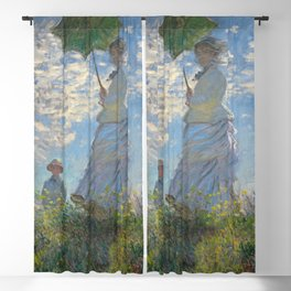 Claude Monet - Woman with a Parasol Blackout Curtain
