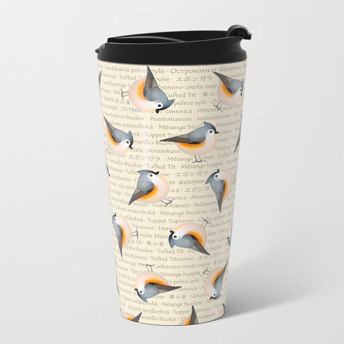 Tufty baeolophus Travel Mug