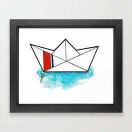 USCGC Origami Framed Art Print