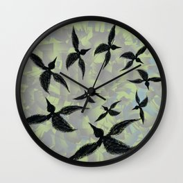 Circling Birds   Wall Clock