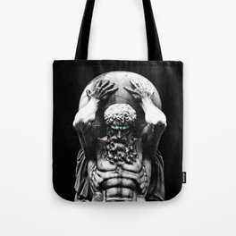 Hercules holding the whole world Tote Bag