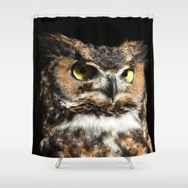 In his domain Shower Curtain