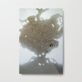 Pearlescent Metal Print