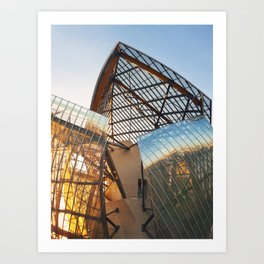 The art and culture museum Art Print