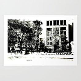 Gullah Weaver Art Print
