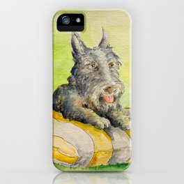 Sadie_Watercolor by Bruce Grant iPhone Case