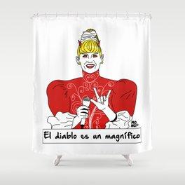 El diablo es un magnífico Shower Curtain