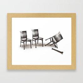 lazybones Framed Art Print