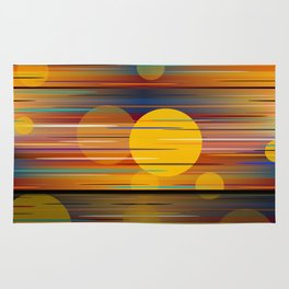 Colors Of A Sunset Rug