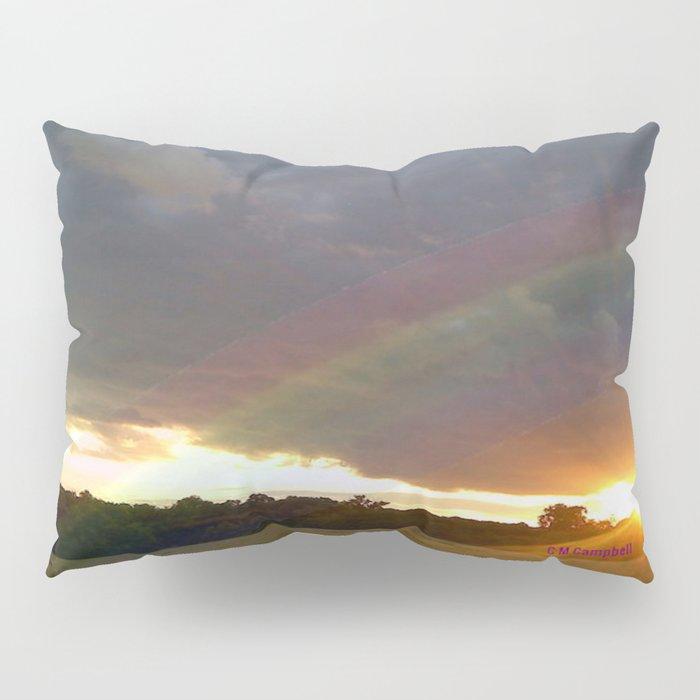 """"""" Somewhere """" Pillow Sham"""