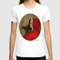 red hood T-shirts featuring Red Riding Hood by Alannah Brid