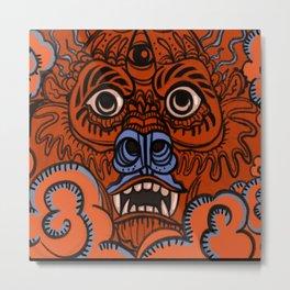 Red Dragon Tattoo Metal Print