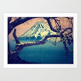 Pausing at Dojiro Art Print