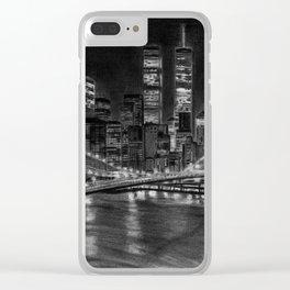 Brooklyn Bridge New York Clear iPhone Case