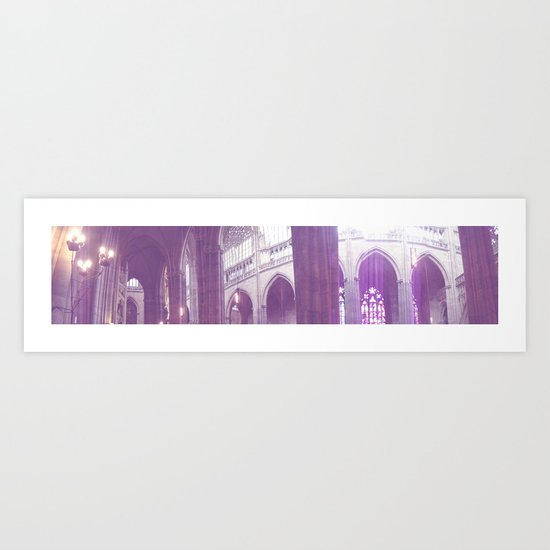 St. Vitus Cathedral Art Print