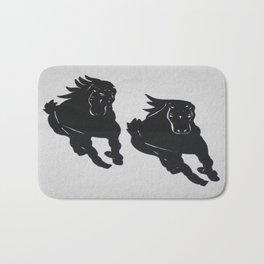 Wild Horses - Screenprint - Wild Veda Bath Mat