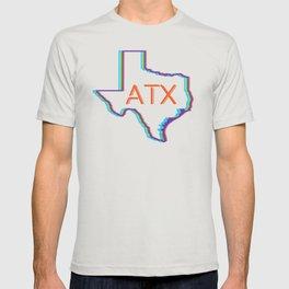 ATX Austin, Texas Retro Neon Lights T-shirt