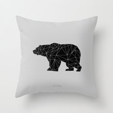 B.BJØRN - Black Throw Pillow