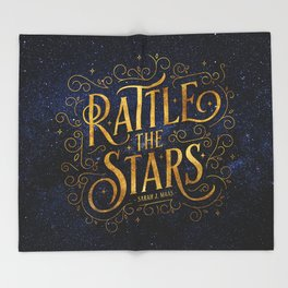 Rattle the Stars Night Throw Blanket