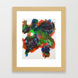 Big Daddy and Little Sister Framed Art Print